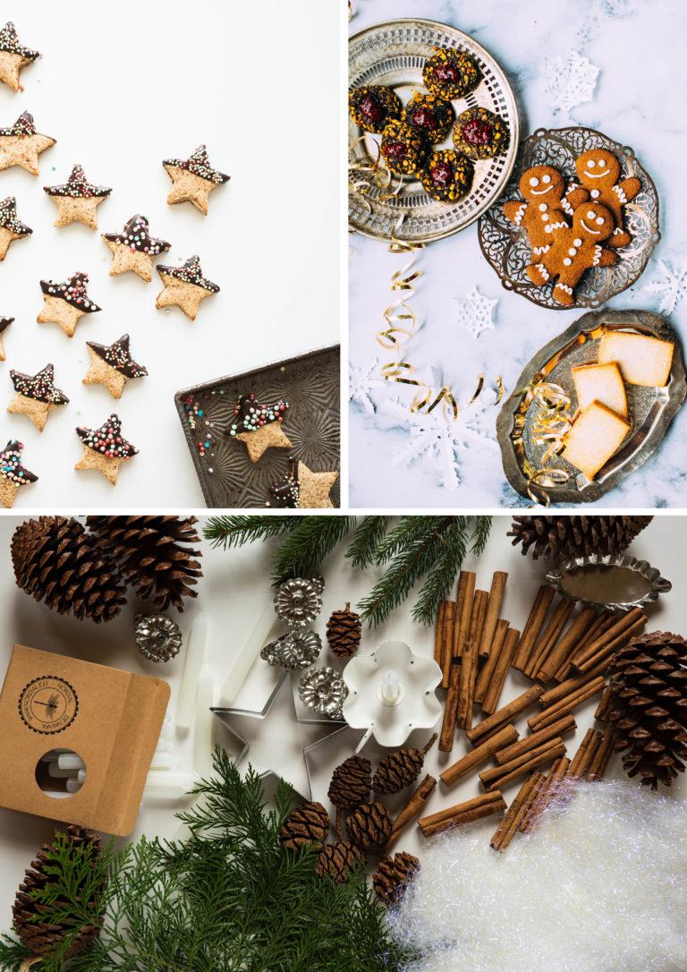 décoration de noel water responsable économique et écologique biscuit pomme de pins canelle