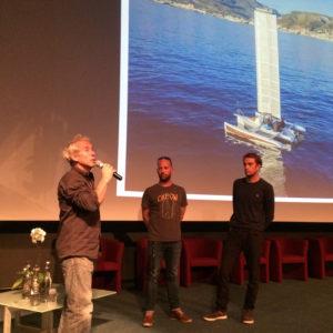 Conférence sur les low techs à Océanopolis en compagnie de Roland Jourdain, le Low tech Lab et de nos ambassadeurs bretons