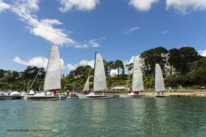 Organisation d'une Odyssée sportive dans le Golfe du Morbihan en imaginée par Lost In The Swell et la Water Family.